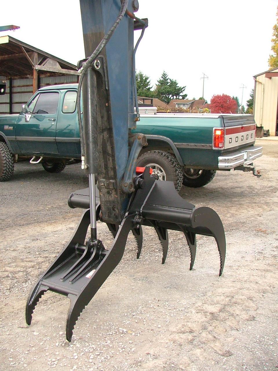 John Deere For Sale >> Hydraulic Thumb Pics – Excavator Thumb Attachments