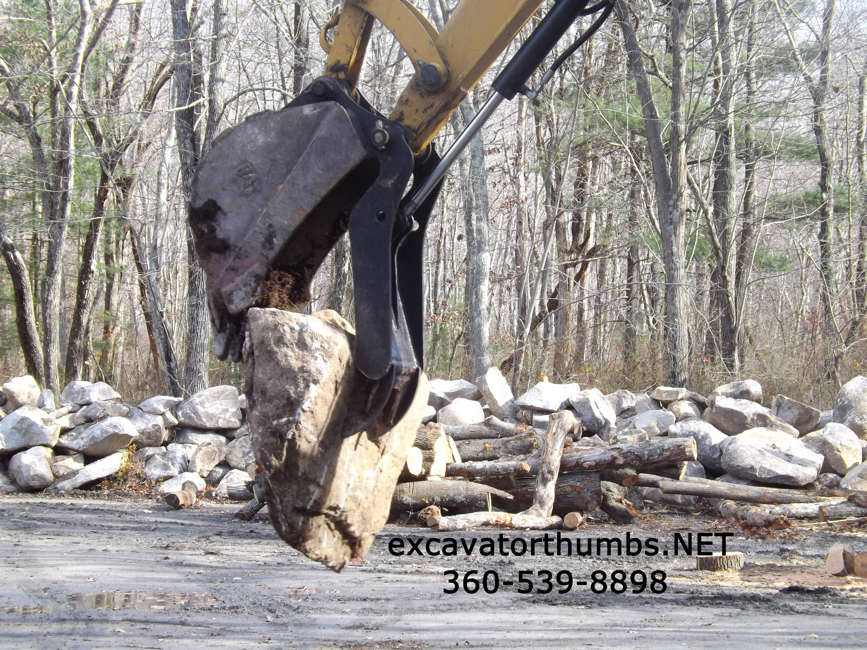 Case – Excavator Thumb Attachments